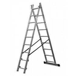 Escalera de aluminio dos...