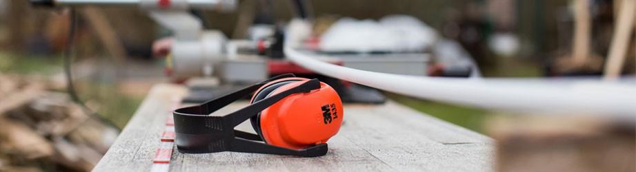 Protección auditiva - Cascos, orejeras y tapones.