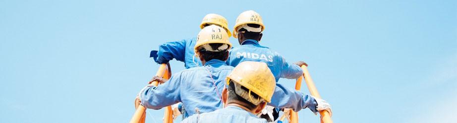 Protección cabeza - Cascos de seguridad.